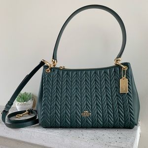 NWT COACH SMALL MIA SHOULDER BAG WITH QUILTING
